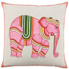 decor artprint quote elephant pillow for chic living room
