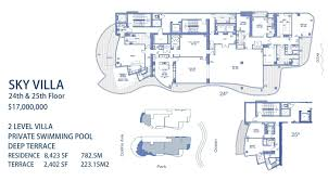Italian Villa Floor Plans Chateau Beach Condos For Sale Sunny Isles Beach