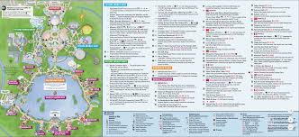Map Of Epcot World Showcase Complete Guide To Epcot