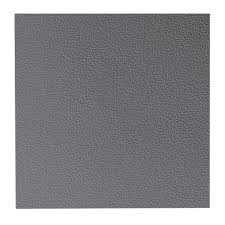 Recycled Rubber Tiles Home Depot by Roppe Hammered Pattern 19 69 In X 19 69 In Charcoal Rubber Tile