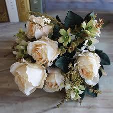 aliexpress com buy beautiful charming milk white large earl rose