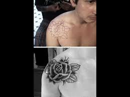 shoulder tattooo 61 nice lace shoulder tattoos