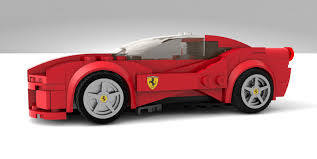 Lego Ideas Ferrari 488 Gtb Speed Champions