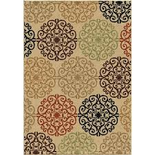 Large Indoor Outdoor Rugs Wayfair Outdoor Rugs Rugs Indoor Outdoor Medallion Beige Area Rug