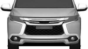 mitsubishi montero 2016 2016 mitsubishi pajero sport revealed in new patent images