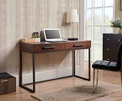 Computer Desk With Drawers Homestar Horatio Computer Desk With 2 Drawers Metal