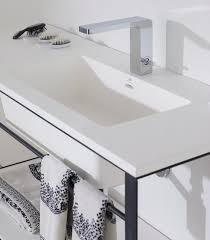 Porcelanosa Bathroom Furniture by Krion U0027s Pureness Reaches Bathrooms With The Modul Series By