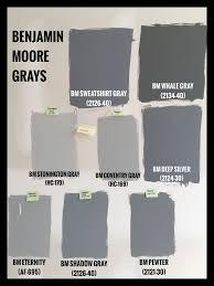 Best Benjamin Moore Colors Best 25 Benjamin Moore Gray Ideas On Pinterest Chelsea Gray