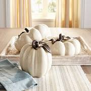 ceramic pumpkins white ceramic pumpkins pier 1 imports