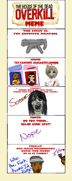 Overkill Meme - hotd overkill meme by takaraz on deviantart