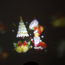Christmas Laser Projector Lights by Waterproof Colorful Santa Claus Pattern Led Christmas Moving Laser