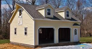 2 Car Garage by Dormer Roof Garages Garage Dormer Horizon Structures