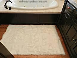 sheepskin bath mat faux sheepskin area rug home design inspiration ideas and pictures