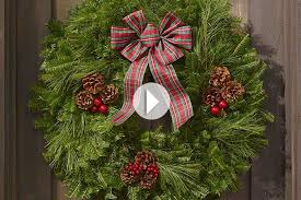 Christmas Tree Wreath Form - holiday wreaths and balsam gifts l l bean business