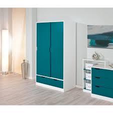 armoire chambre enfant miliboo armoire enfant blanche bleue crea achat vente armoire