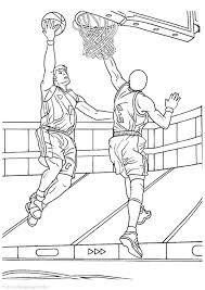 basketball coloring page chuckbutt com