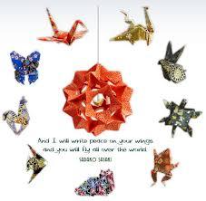 the paper crane origami authentic japanese origami mobiles