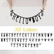 lettre decorative pour chambre b diy anglais alphabet lettre nombre symbole amovible autocollant