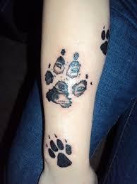 wolf print tattoo tattoo collections
