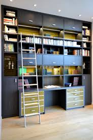 bureau om camber bibliothèque intégrant un bureau bibliothèques