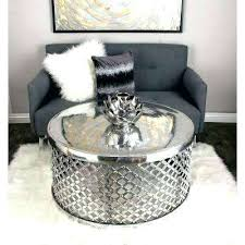 round silver accent table round silver coffee table silver accent table large size of coffee