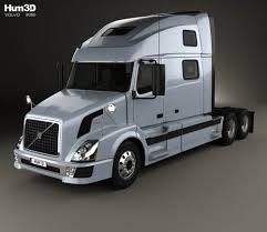 2015 volvo tractor volvo vnl tractor truck with hq interior 2002 3d model hum3d