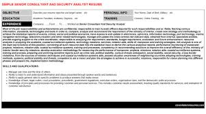 security analyst endpoint security resumes u0026 cover letters