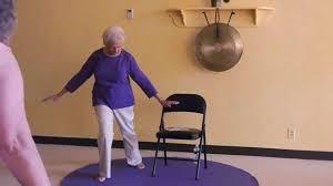 Armchair Yoga For Seniors Seniors Improve Your Balance With Multi Movements Led By Paula
