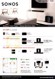 ultimate home theater speakers klipsch sonos home theater systems play 1 3 5 2 play 5 stereo