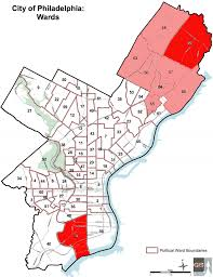 chicago voting map map where in philly did do best on election curbed