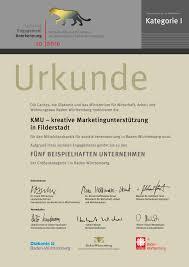 Caritas Baden Baden Kmu Gehört Zu Den 5 Beispielhaften Unternehmen Kmu Hofmann