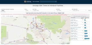 Map Of Greater Phoenix Area by 3 Years After Phoenix Scandal Va Launches New Online Wait Time
