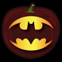 superhero pumpkin love classic batman halloween pinterest