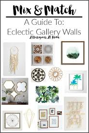 mix u0026 match a guide to eclectic gallery walls via a designer at