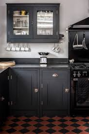 granite countertop galley kitchen white cabinets kitchenaid