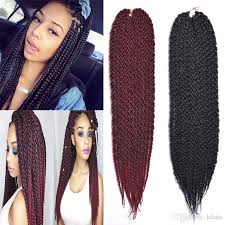 crochet braid hair wholesale 3d cubic twist crochet braids 22 120g crochet braid hair