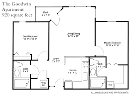 250 Square Foot Apartment Floor Plan by Seabury An Active Life Care Community Residences