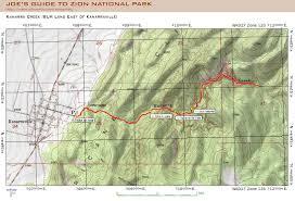 Utah Topo Maps by Kanarra Creek Canyon Utah Dennis U0027s Blogs
