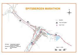 Frontier Route Map by Spitsbergen Marathon World U0027s Marathons