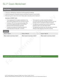 Smart Goals Worksheets Why Situational Leadership Slii