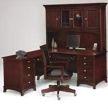 Cherry Wood Corner Computer Desk Cherry Computer Desk With Hutch Home Design Ideas