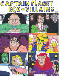 captain planet eco villains by vultureclaw on deviantart