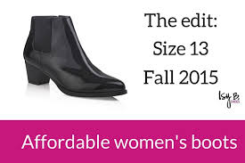 womens boots in size 13 the fall 2015 edit affordable womens boots in size 13