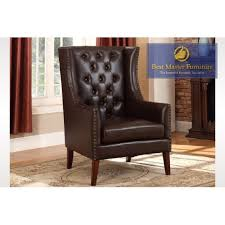 Faux Leather Accent Chair Lc03 Accent Chair Best Master Furniture