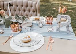 Trends Decor Marble Copper U0026 Other 2018 Wedding Trends To Obsess Over