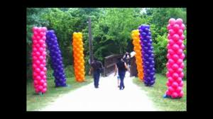 Columns For Party Decorations Balloon Arches And Column Ideas Youtube
