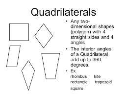 The Interior Angles Of A Triangle Always Add Up To Polygons Two Dimensional Shapes That Have Three Or More Sides Made