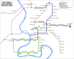 Metro Train Map Bangkok Sky Train Bts U2014 Map Lines Route Hours Tickets