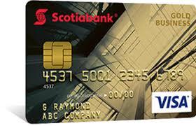 Visa Business Card Visa Business Credit Card Scotiabank