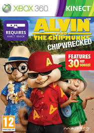 alvin and the chipmunks alvin u0026 the chipmunks chip wrecked xbox 360 amazon co uk pc